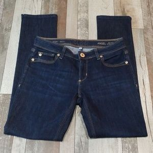 DL1961 Angel mid-rise skinny ankle blue Jean's 26